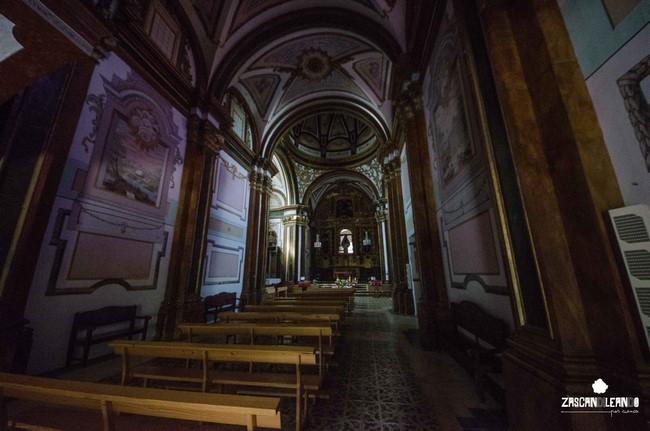 La ermita de Consolación destaca por sus pinturas murales y su retablo mayor