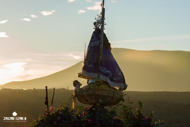 El amanecer del primer día del Septenario resultó espectacular