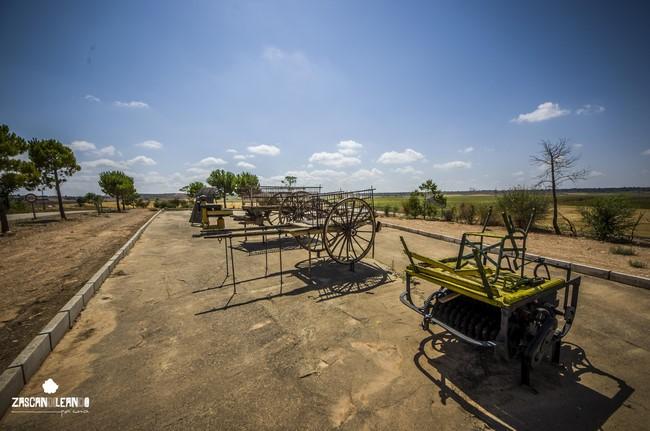 El museo etnológico de Atalaya del Cañavate está en la carretera dirección Tébar