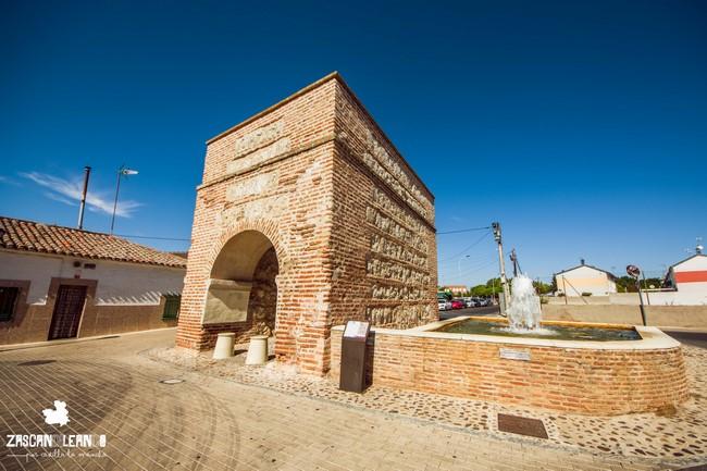 La puerta de Ugena es de estilo mudéjar y data del siglo XI