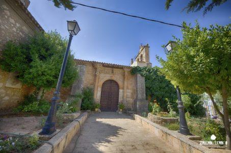 Iglesia de la Asunción, en Atalaya del Cañavate, Cuenca