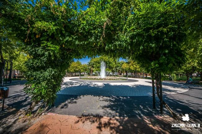 La zona verde más importante de Illescas es el parque Manuel de Vega