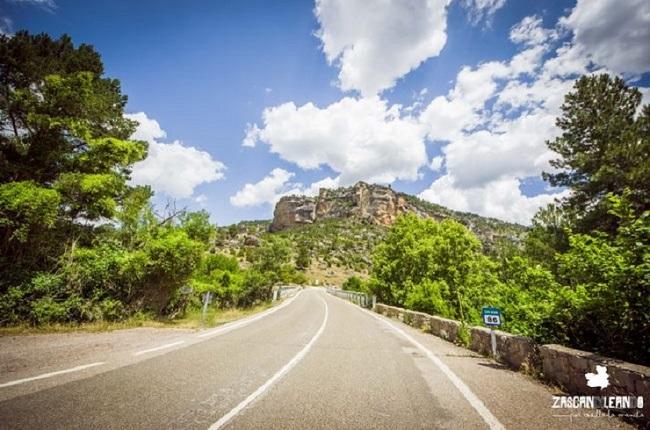 Este puente separa las provincias de Cuenca y Guadalajara