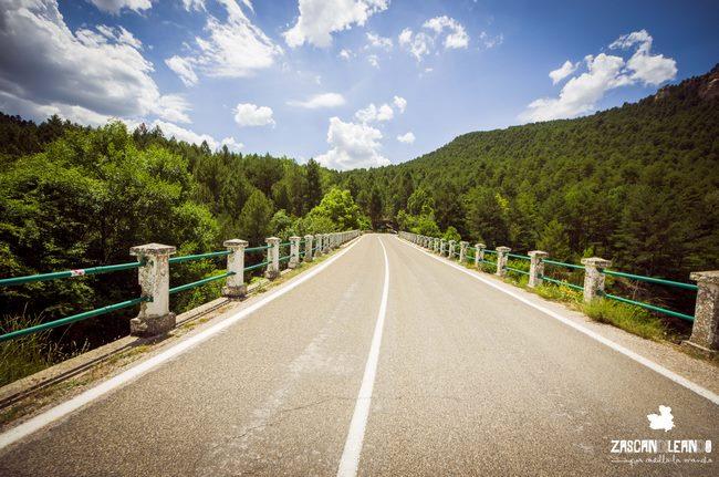 El paraje del puente de Martinete es espectacular