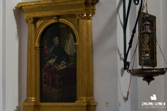 El santuario de la Caridad, en Illescas, alberga varias obras pictóricas de El Greco