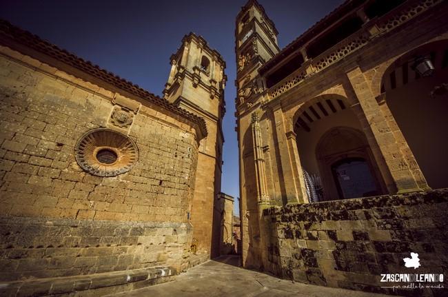 Andrés de Vandelvira fue el autor de las torres del Tardón y la Trinidad