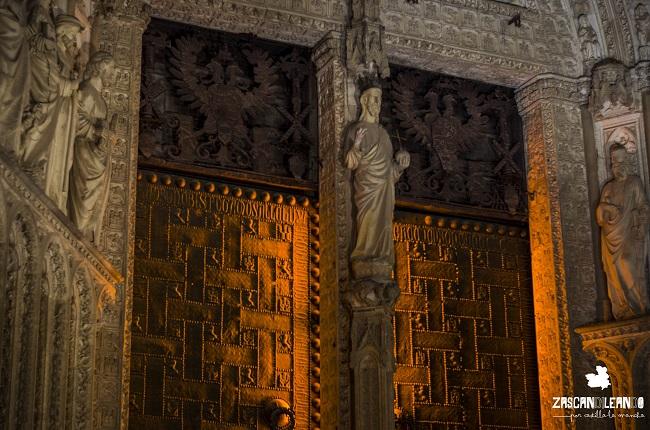 Toda la estructura de la catedral Primada se encuentra plagada de detalles interesantes