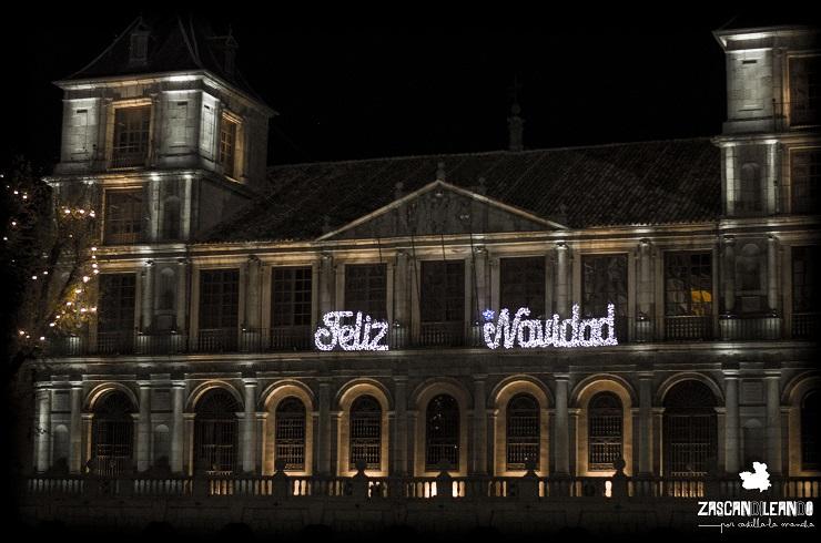 El ayuntamiento de Toledo con mensaje navideño