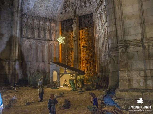 Diversos belenes de Navidad se encuentran ubicados en distintos puntos de Toledo capital