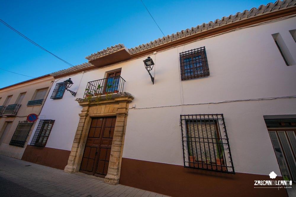 Son innumerables las casas nobiliares que existen en Las Pedroñeras