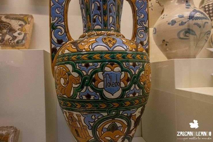 Una de las piezas más bellas de la exposición aTempora, en Talavera