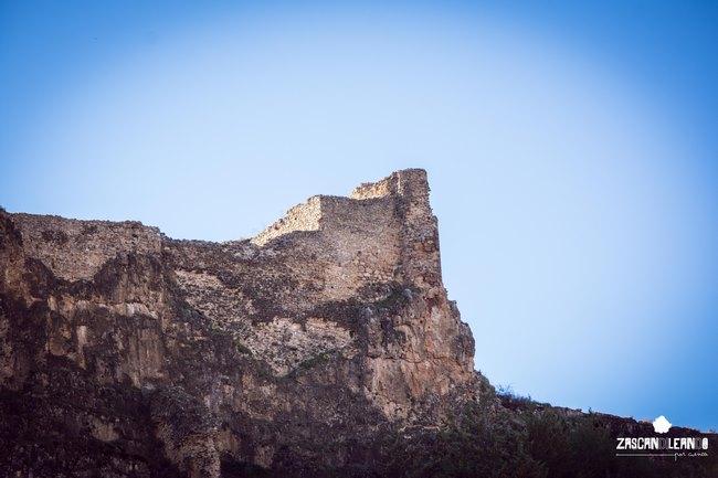 El castillo de Cañete es una de las fortalezas árabes más interesantes de Cuenca