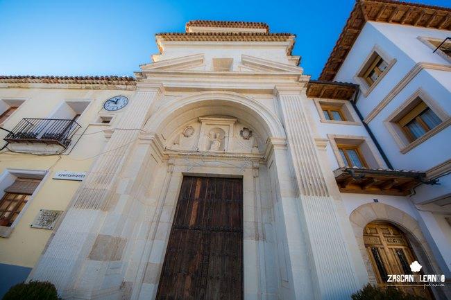 Antes era la capilla del antiguo seminario colegio de Gramática y Latinidad