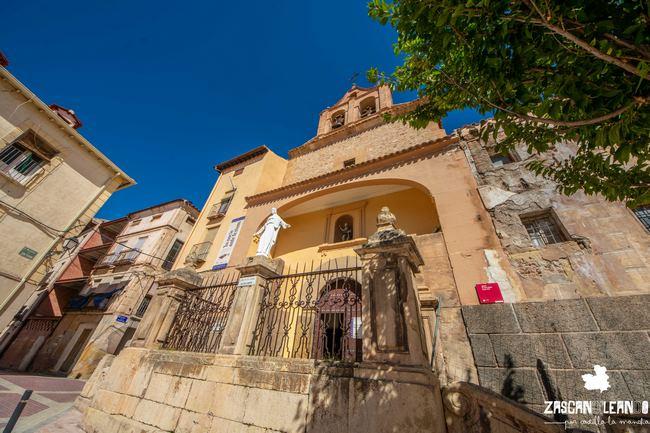 Este templo se ubica en la plaza de San Pedro