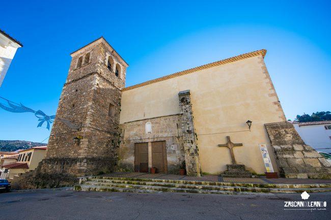 Esta es la única iglesia que se conserva en el pueblo de Cañete