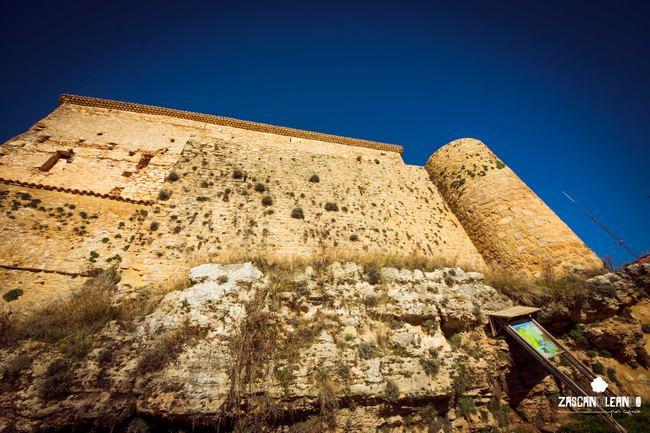 La muralla musulmana de Cañete es una de las mejores conservadas en la provincia de Cuenca