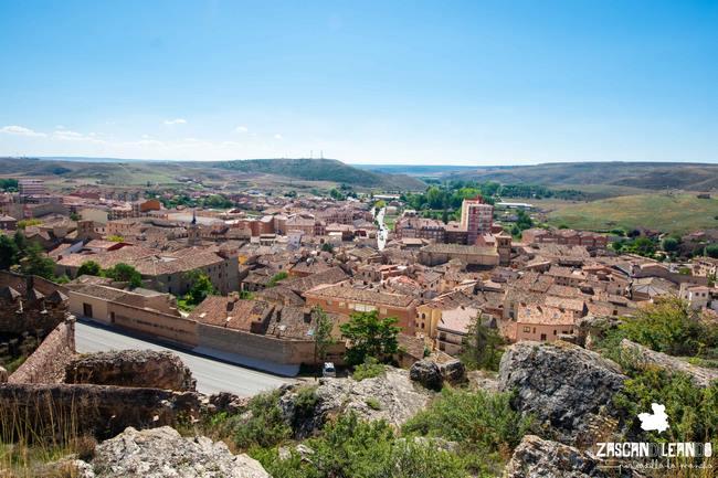 Desde el castillo se puede observar toda la villa de Molina y sus encantos