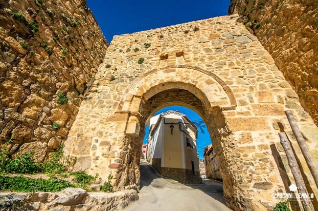 La Puerta de la Virgen es de acceso directo, no como las de San Bartolomé y Las Eras