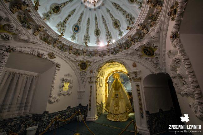 Este espacio es muy hermoso, pues está decorado con cerámica de Talavera