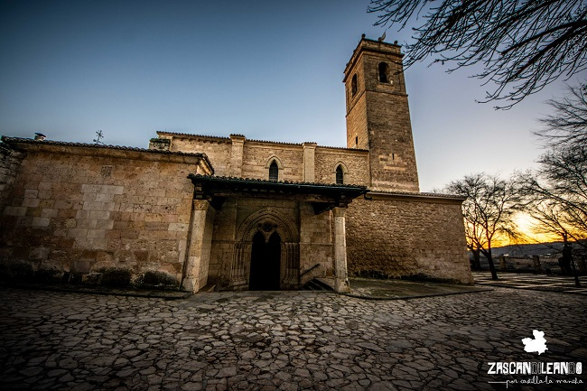 Fue levantada en el siglo XIII por orden del arzobispo Ximénez de Rada