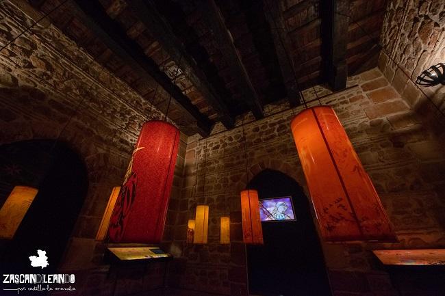 Los tres pisos del torreón del Gran Prior están repletos de información interesante