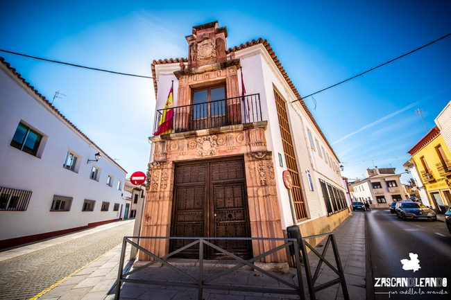 La portada de la casa Párraga es una de las más bellas de Ciudad Real