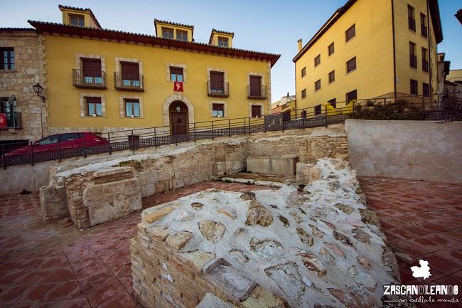 Este yacimiento arqueológico se encuentra en la calle San Juan