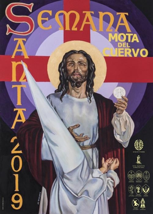 Cartel de la Semana Santa de Mota del Cuervo 2019