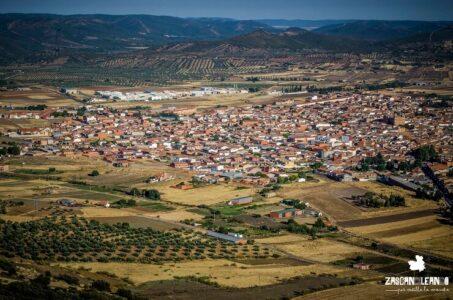 Panorámica del la localidad de Pidrabuena, provincia de Ciudad Real