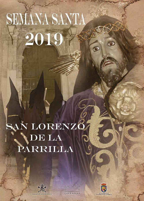 Cartel de la Semana Santa 2019 en San Lorenzo de la Parrilla