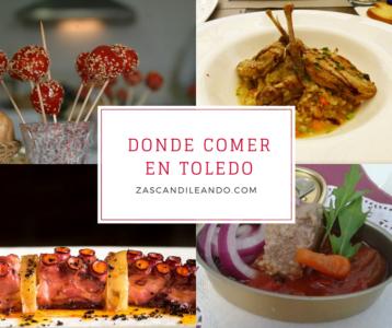 Listado de sitios donde comer en Toledo