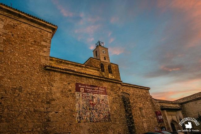 La Colegiata de Pastrana es uno de los templos más bellos de Guadalajara
