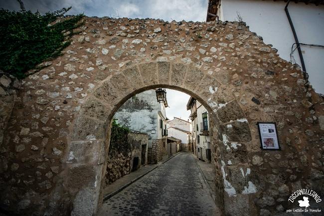 Este es uno de los pocos restos que quedan de la muralla de Pastrana