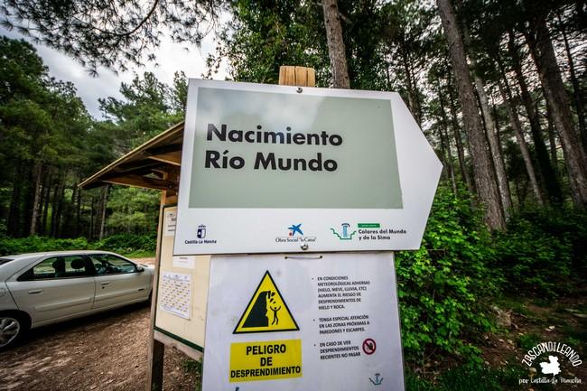Existe una normativa que se debe cumplir cuando se visita el Nacimiento del Río Mundo