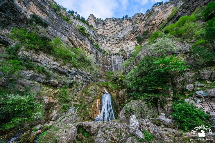 La cascada del Nacimiento del Río Mundo es espectacular