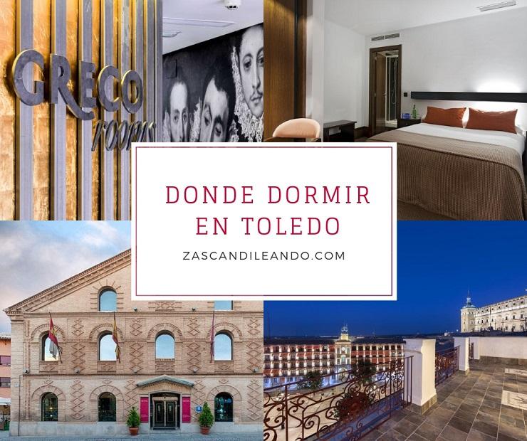Donde dormir en Toledo