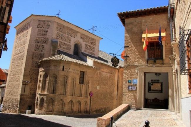 Se ubica en la calle Santa Isabel, en Toledo