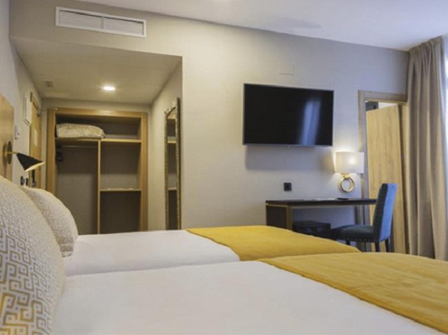 Este magnífico hotel cuenta con hasta 110 habitaciones
