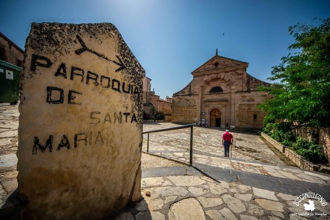 La parroquia de Santa María se ubica en el barrio de El Arrabal
