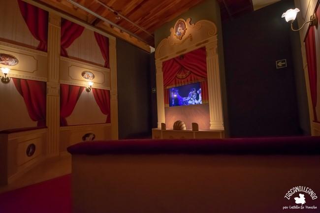 Uno de los espacios más vistosos del museo Nacional del Teatro de Almagro
