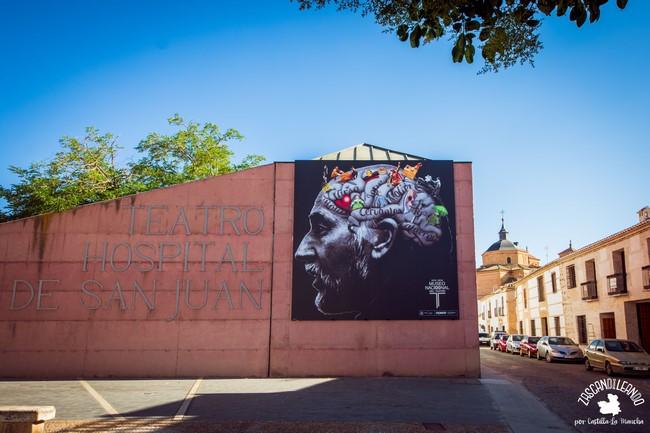 El hospital de San Juan a día de hoy ofrece representaciones del Festival de Teatro Clásico