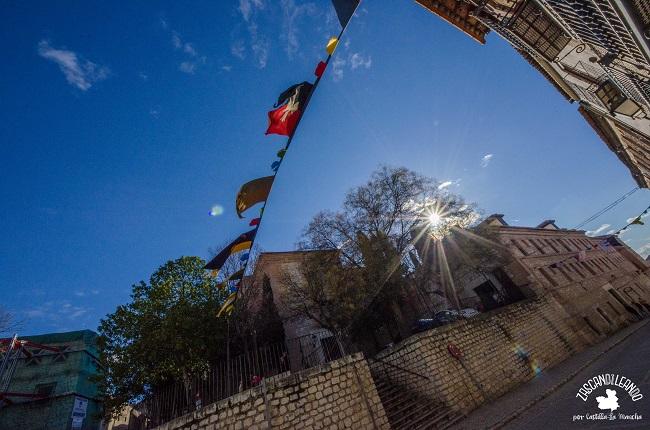 El Parador Nacional de Turismo se encuentra ubicado en un antiguo convento de Chinchón