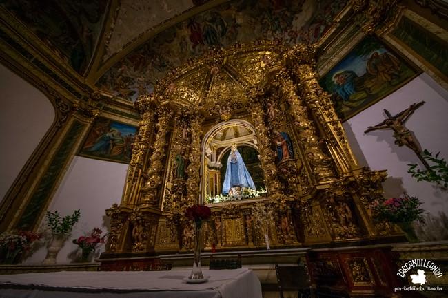 El santuario de Nuestra Señora de Belén se ubica a 12 kilómetros de Almansa