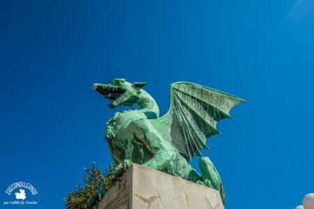 El dragón es el símbolo que representa la ciudad de Liubliana, en Eslovenia