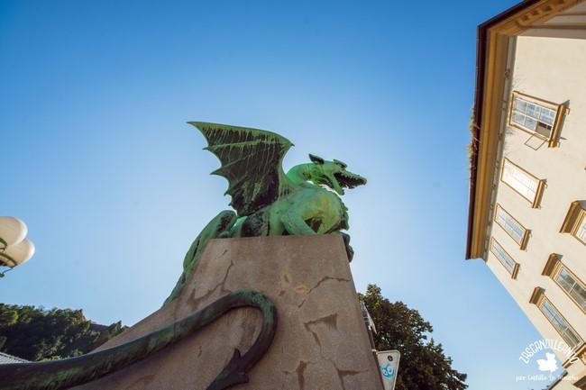 Estas esculturas de dragones son impresionantes