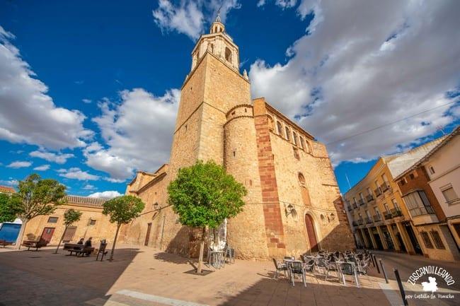 La iglesia de la Asunción es el edificio religioso más importante de Manzanares