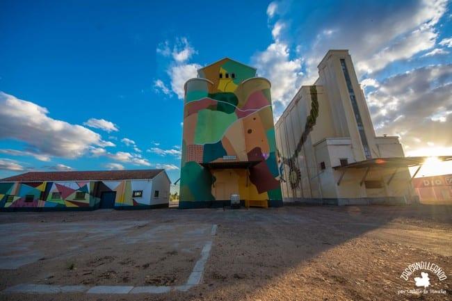 Estos murales se encuadran dentro del proyecto artístico Gigantes
