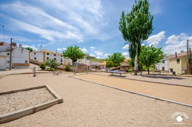 Zona recreativa en Saceda-Trasierra