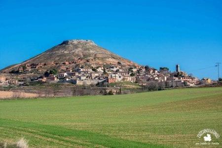 Hita, en Guadalajara, se ubica en la ladera de un pequeño promontorio