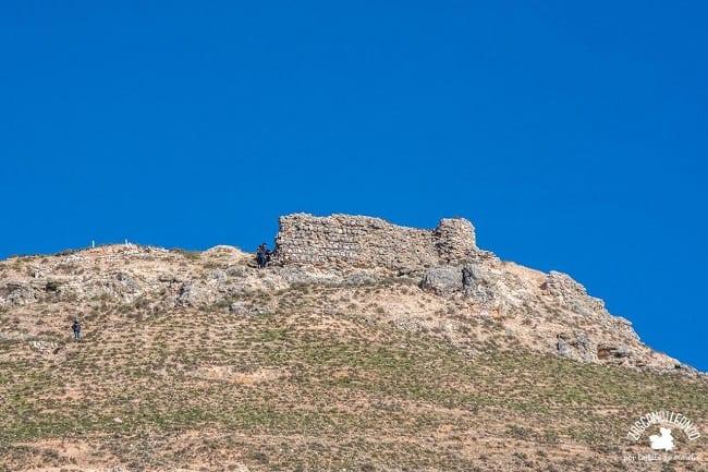 Donde antes se ubicaba el castillo de Hita, ahora hay un parque arqueológico